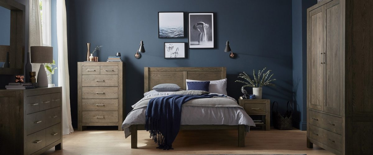 Turin Dark Bedroom by Bentley Designs