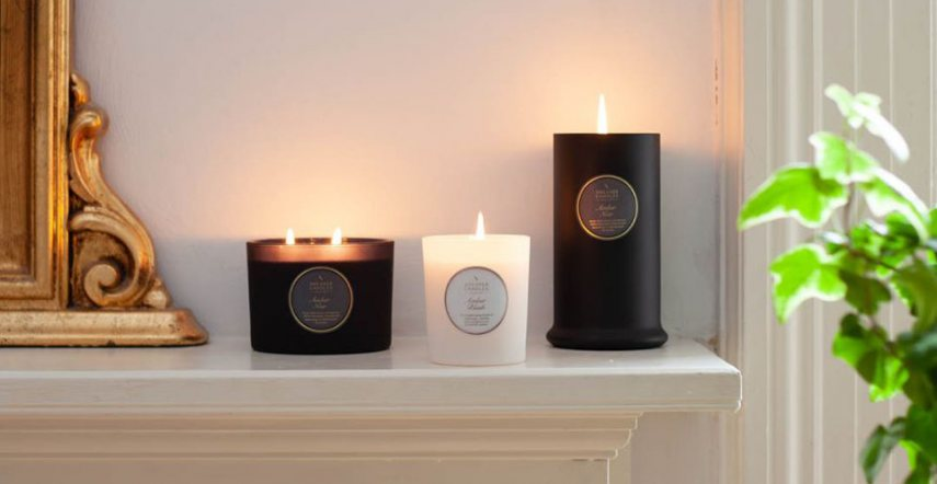 Amber Noir by Shearer Candles