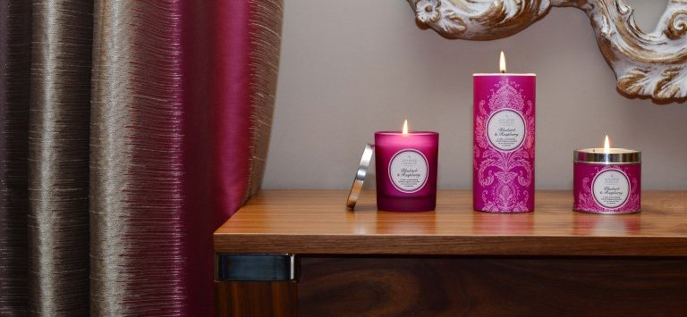 Rhubarb and Raspberry by Shearer Candles