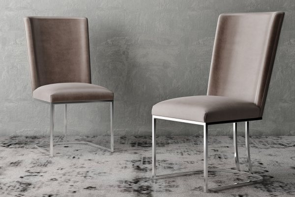 Ivana Velvet Dining Chairs by Torelli