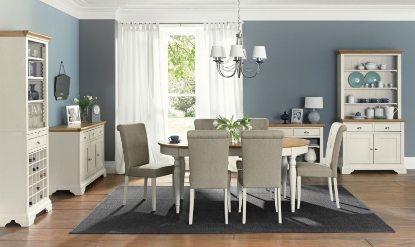 Hampstead Soft Grey & Pale Oak Dining