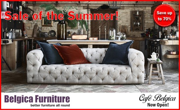 The Belgica Furniture Summer Sale is now on!