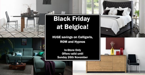 Black Friday 2017 at Belgica Furniture!