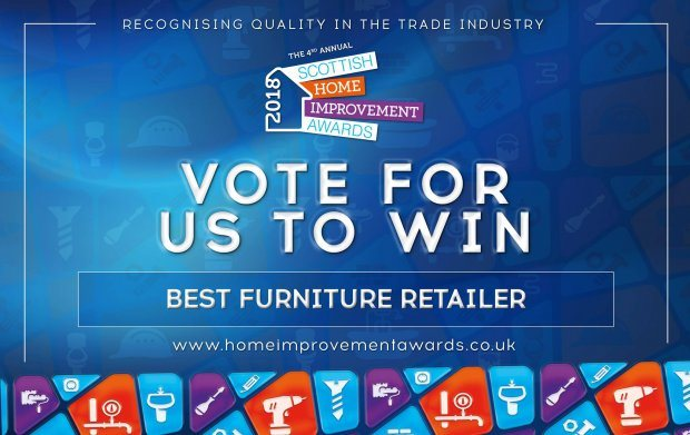 Belgica have been nominated for Best Furniture Retailer at the Scottish Hom