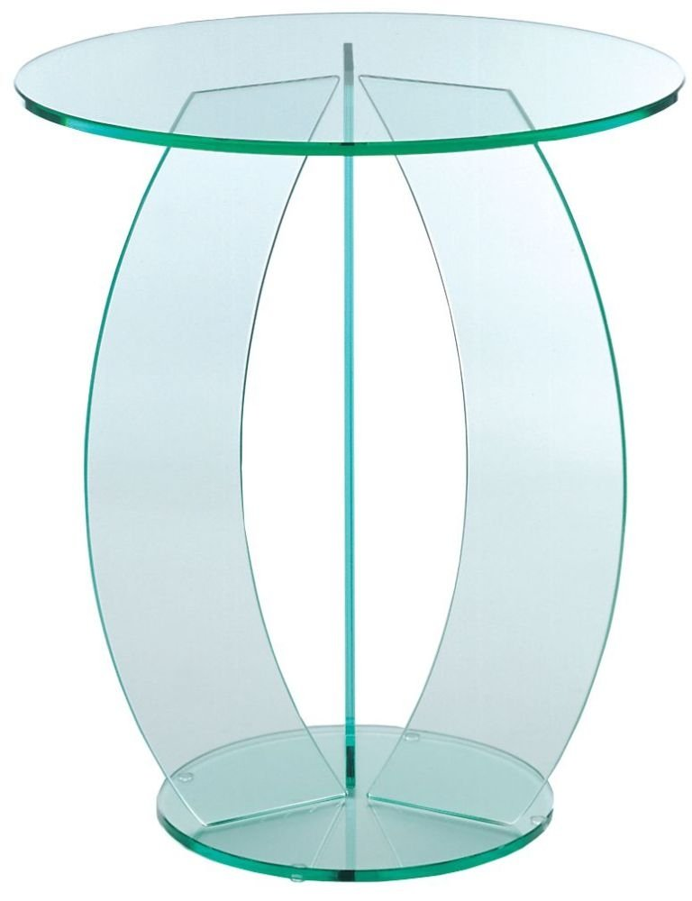 Greenapple Round Table With C Shape Belgica Furniture