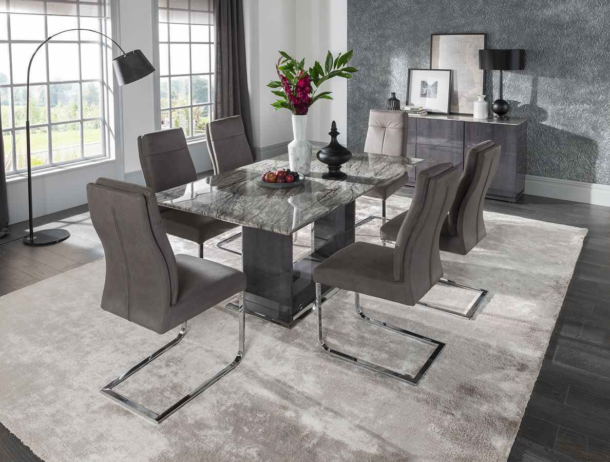 Buy the stella cm marble dining table at belgica