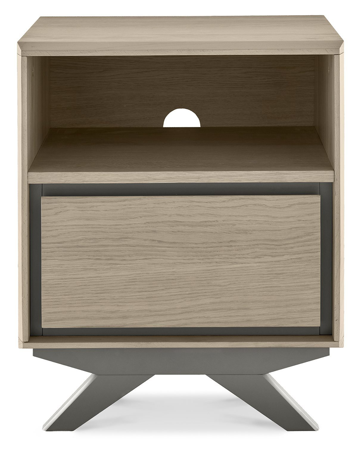 Buy The Brunel 1 Drawer Nightstand Belgica Furniture