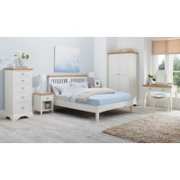 Hampstead Two Tone Slatted Bedstead