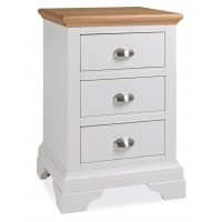 Hampstead Two Tone 3 Drawer Nightstand