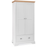 Hampstead Two Tone Double Wardrobe