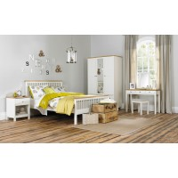 Atlanta Two Tone Bedstead (High Footend)