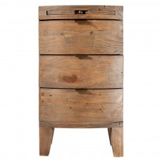 Bermuda 3 Drawer Bedside Chest