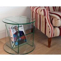 GreenApple Round Table and Magazine Rack