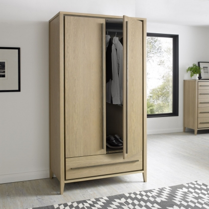 Rimini Double Wardrobe
