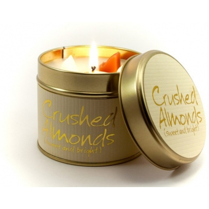 Crushed Almonds Scented Candle Tin
