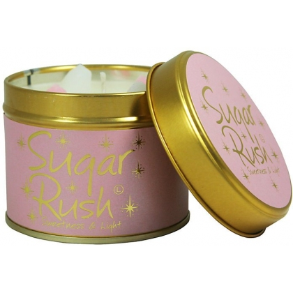 Sugar Rush Scented Candle Tin