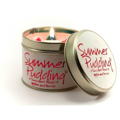Summer Pudding Scented Candle Tin