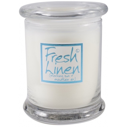 Fresh Linen Candle Jar