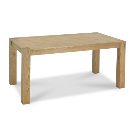 Turin Light Oak 6 Seater Table