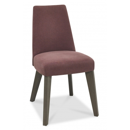 Cadell Upholstered Dining Chair (Mulberry)