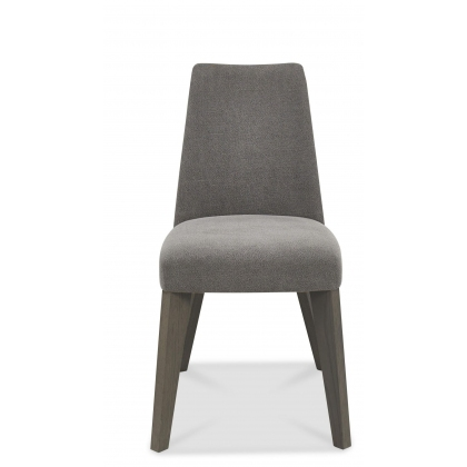 Cadell Upholstered Dining Chair (Smoke Grey)