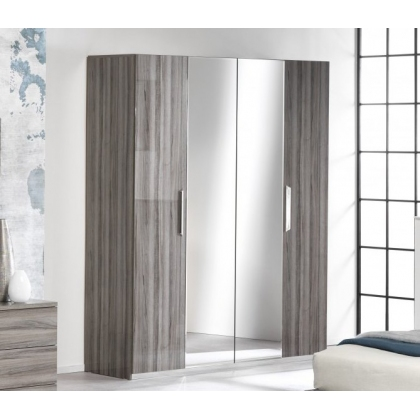 Teverly 4 Door Wardrobe by San Martino