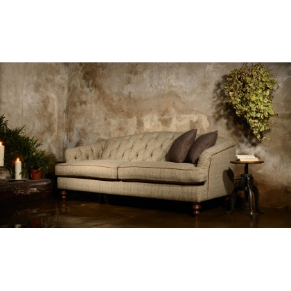 Dalmore Petit Sofa (Tweed) by Tetrad Harris Tweed