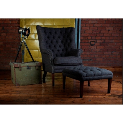 MacKenzie Chair (Tweed) by Tetrad Harris Tweed