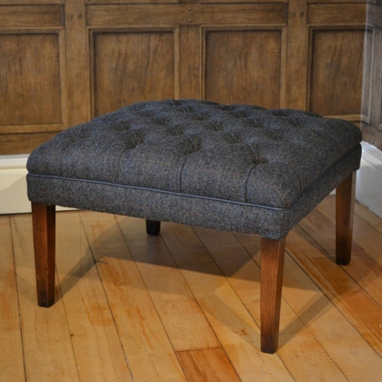 MacKenzie Stool (Tweed) by Tetrad Harris Tweed