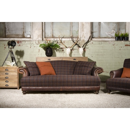 Taransay Petit Sofa by Tetrad Harris Tweed