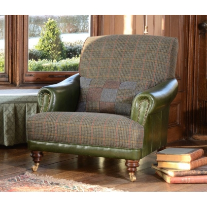 Taransay Gents Chair by Tetrad Harris Tweed