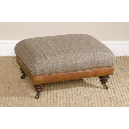 Taransay Stool by Tetrad Harris Tweed