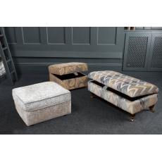 Lowry Storage Footstool by Alstons