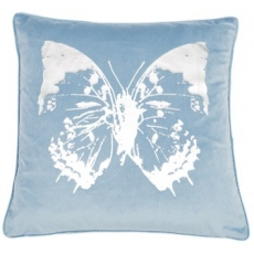 Flutter Blue Cushion