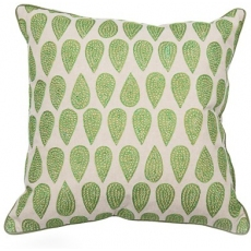 Shaila Green Cushion