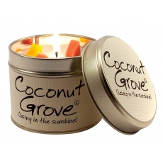 Coconut Grove Scented Candle Tin