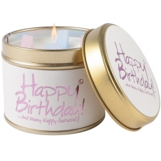 Happy Birthday Scented Candle Tin