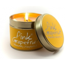 Pink Grapefruit Scented Candle Tin