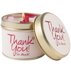 Thank You Scented Candle Tin