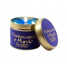 Frankincense & Myrrh Scented Candle Tin