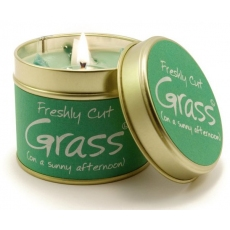 Cut Grass Scented Candle Tin