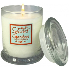 Secret Garden Candle Jar