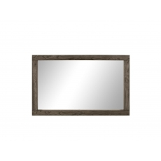 Turin Dark Oak Large Landscape Mirror