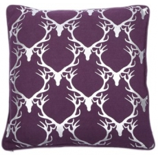 Dasher Purple Cushion