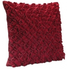 Cressida Scarlet Cushion