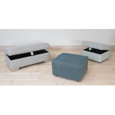 Memphis Footstool by Alstons
