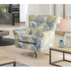 Memphis Swivel Chair by Alstons