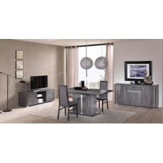 Grigio Extending Dining Table (160cm-200cm) by San Martino