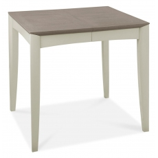 Bergen Grey Washed Oak & Soft Grey 2-4 Seater Extension Dining Table