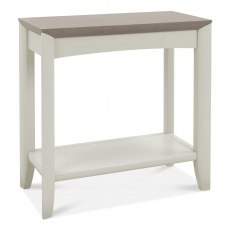 Bergen Grey Washed Oak & Soft Grey Side Table